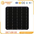 new 6*6 high efficiency mono solar cell 5BB solar panel cells 5w