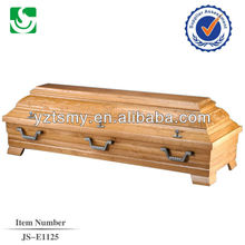 hot sale solid osk coffin box