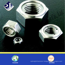 metal material hex lock nut manufacturer