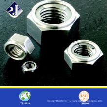 Металлический материал шестнадцатиугольная гайка производитель