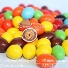 Melhores fornecedores de chocolate por atacado coberto de chocolate com amendoim