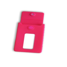 LFGB Colorful Silicone Business ID Card/Bank Card Holder Case