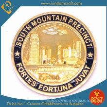 Liga de zinco Die Cast Force Coin
