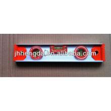 Nivel de alcohol de aluminio HD-90D-M, imán