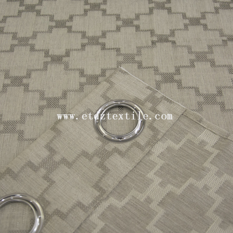 100% polyester jacquard curtain fabric 6001