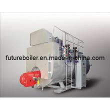 Chaudière à vapeur à condensation chauffée à l'huile (gaz) automatique