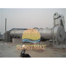 Máquina secadora rotatoria de la mandioca de gran capacidad con buen precio