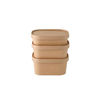 Good quality square paper bowl