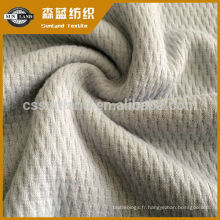 tissu en polyester tricoté par heattech pour vêtements de sous-vêtements d'hiver