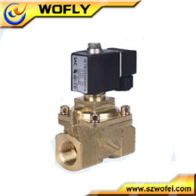 Normal closed direct acting flow water solenoid valve 24vac