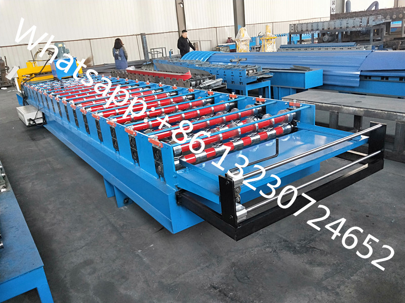 Iron Sheet Crimp Curve Machine