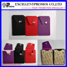 2016 New Design Silicone Mobile Phone Card Holder