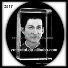 3d crystal Liu Dehua
