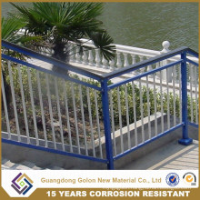 Luxurious Outdoor Wrought Iron Stair Railing for Building