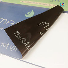 Zolldrucken PVC-Material glänzende Laminierung kosmetische Etikett Aufkleber