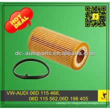 06D 115 466, 06D 115 562,06D 198 405 For Oil Filter Element Passat,Golf,EOS,Beetle,Jetta,GTI,Rabbit,,A4,TT