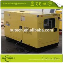 Super silencioso gerador diesel 20Kva 404D-22G alimentado por motor Perkin 404D-22G, alta qualidade