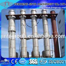 Evaporador de circulación forzada de efecto múltiple de aguas residuales químicas y de alta salinidad