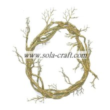 ODM for Dry Tree Branches Without Leaves Artificial Circle Vine For The Chritmas Wedding Decor 38cm supply to Zimbabwe Supplier