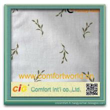 Mode nouvelle conception assez élégant tissu polyester
