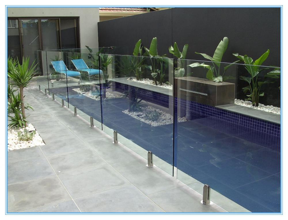 Glass Fence Of Swimming Pool