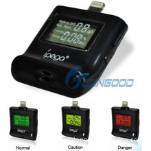 New LCD Alcohol Tester Analyser Checker Breath Breathalyser for iPhone 5