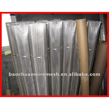 Construction using 316 stainless steel wire mesh