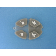 Grey Color Silicone Rubber Keypad