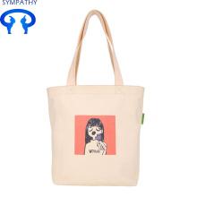 Dikontrak tas tangan siswa perempuan tas kain segar kecil