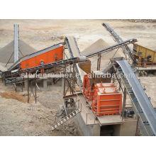 Usine de carrière de basalte