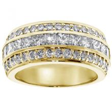Anel de casamento feito sob encomenda de jóias de prata com anel de prata 925