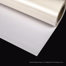 película de vinilo reflectante de alta temperatura plateada