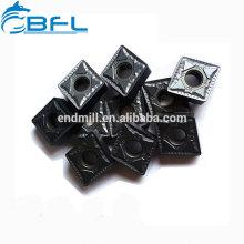 Plaquettes de tournage en carbure monobloc BFL tungstène traitant l'acier inoxydable