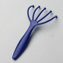 Özel plastik kafa masaj W / Logo tutamacı