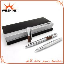 Fantastic Shiny Chrome Metal Pen Set for Business Gift (BP0057)