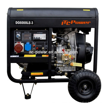 3kw portale refrigerado por aire generador diesel inversor