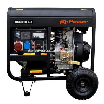 3kw портальный дизельный генератор с воздушным охлаждением