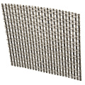 Decorative Metal Mesh Shower Curtain Chain Link Door Fly Screen Curtain gold chain curtain