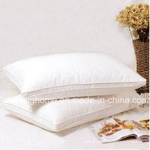 Высокое качество 100% хлопок белая подушка для здоровья отеля