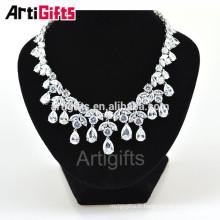 Goutte d'eau forme bijoux de mode collier élégant