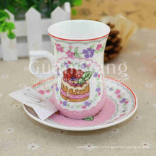Odm OEM ODM Service Disponible Nouveau Bone China Hello Kitty Cups