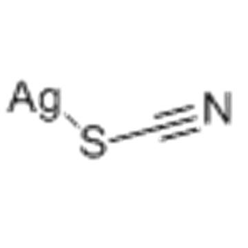 Thiocyanic acid,silver(1+) salt CAS 1701-93-5