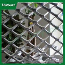 Personalizado esticado metal malha / diamante alumínio expandido metal malha máquina / indústria / decoração