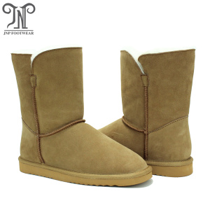 High Efficiency Factory for Womens Suede Winter Boots Fashionable winter warmest women sheepskin outdoor boots export to Saint Vincent and the Grenadines Factory