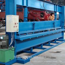 Dobladora de panel de metal de 4 m