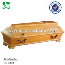 wholesale handcraft new hickory coffin