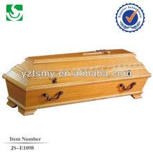 Оптовые продажи ручной работы новых Хикори гроб