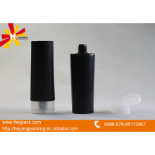black plastic soft tube