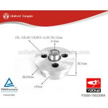 Eixo de engrenagem ocioso F3000-1002306A de peças de motor YC4F de YuChai