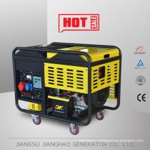 воздушным охлаждением небольшой портативный дизельный генератор 12кВт 15kva